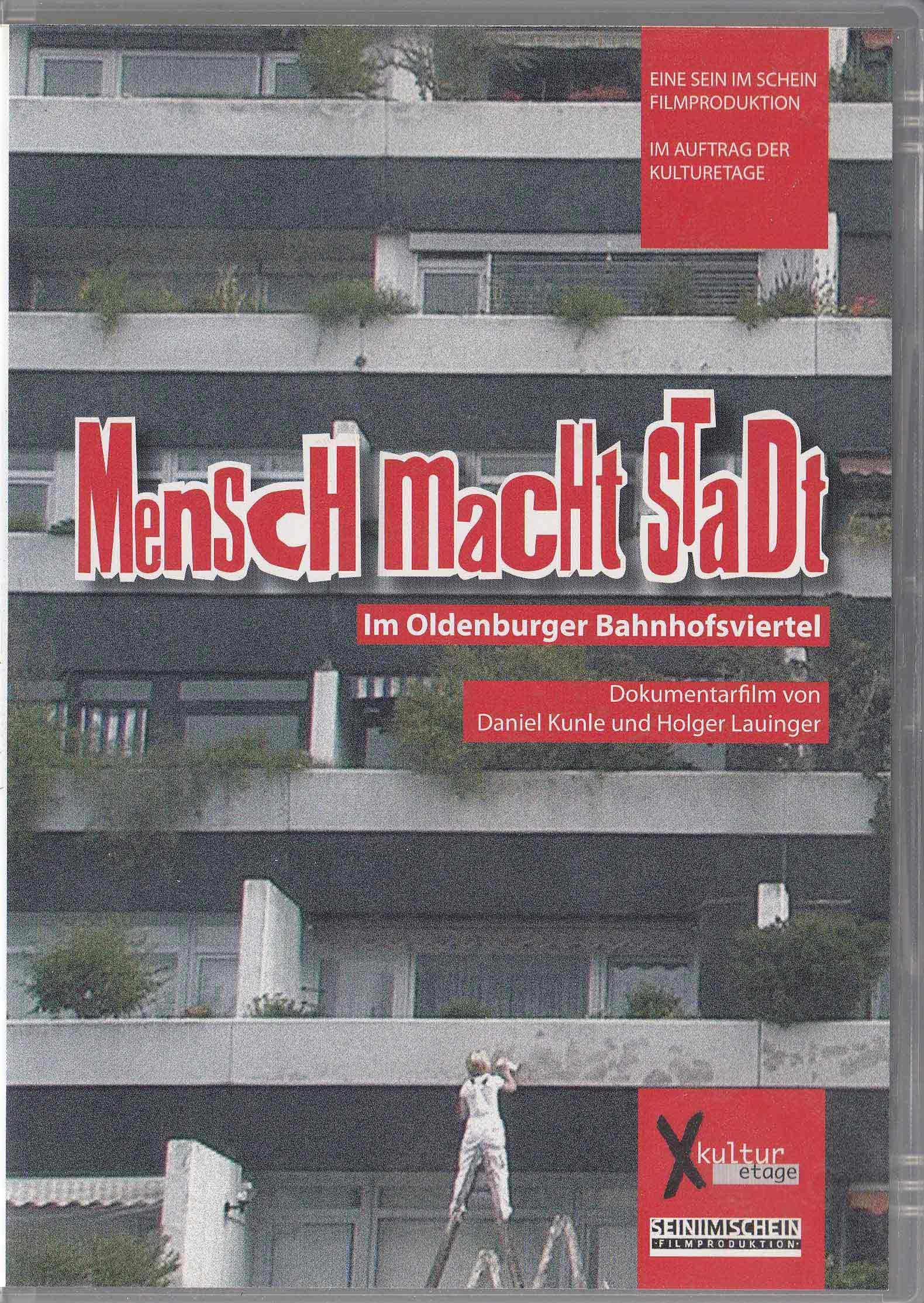 """DVD-Cover """"mensch macht stadt"""""""